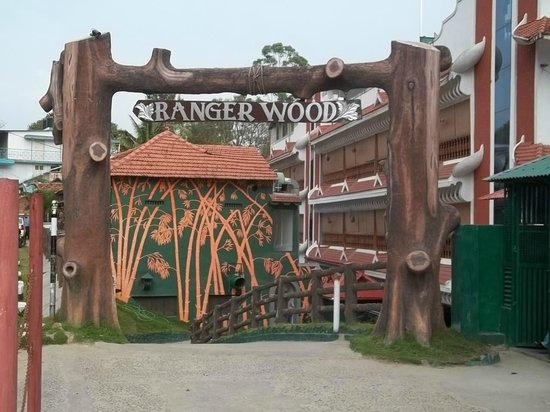 Rangerwood Nature Castle: Hotel entrance