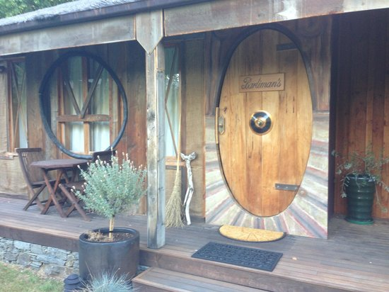 This is their hobbit themed room i did not stay there for Hobbit themed bedroom