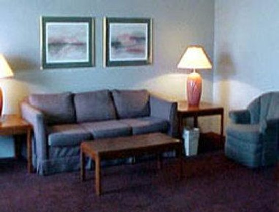 South Lansing Days Inn: Lounge Area