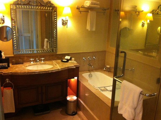 Hilton Mumbai International Airport: Bathroom