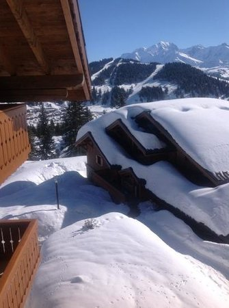 Villard-sur-Doron, Frankrig: plenty of snow on march 2013