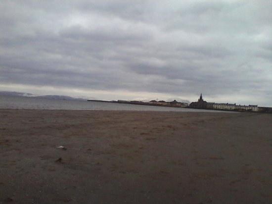 Ayrshire, UK: south beach:-) :-)