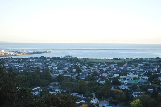 Te Maunga: VIew over Nelson to the Bay