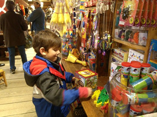 Weston, VT: Tons of toys for young and old to enjoy!