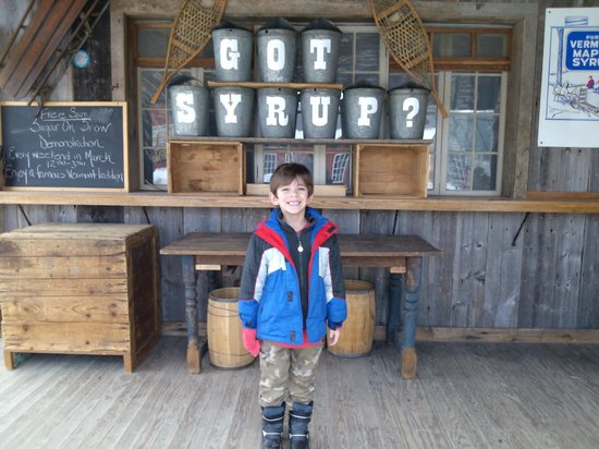 Weston, VT: Have you ever seen maple syrup made?