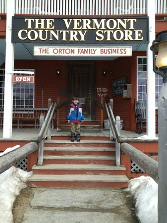 Weston, VT: Front entrance to an hour or more of fun.