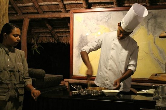 Spice Village: Cooking demonstration
