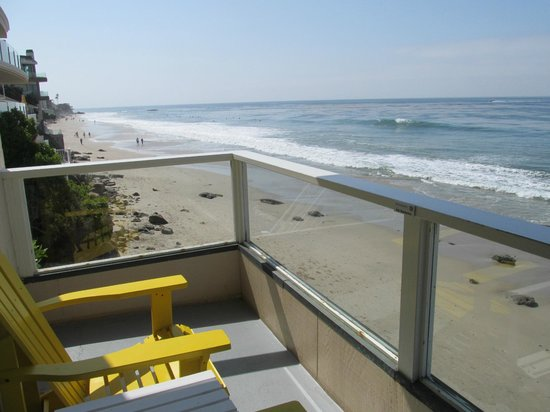Pacific Edge on Laguna Beach, a Joie de Vivre Hotel: Our balcony
