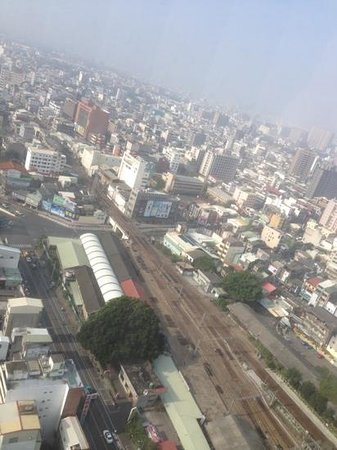 Shangri-La's Far Eastern Plaza Hotel Tainan: view from 29 floor