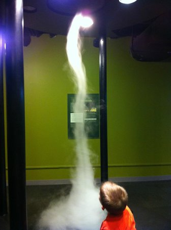 Museum Of Discovery : tornado exhibit