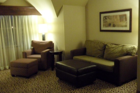 Courtyard by Marriott Lake Placid: LIving room area