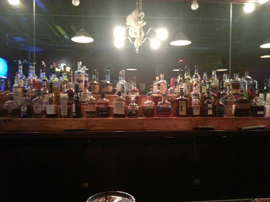 Old Talbott Tavern: Nothing but Bourbons in this section