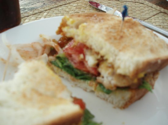 Fish sandwich picture of dunmore town harbour island for Best fish sandwich near me