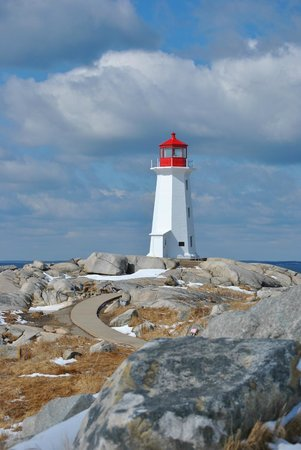 Peggy's Cove, Kanada: That famous lighthouse
