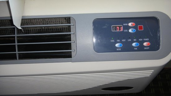Americas Best Value Inn Hayward: Heat and AC unit