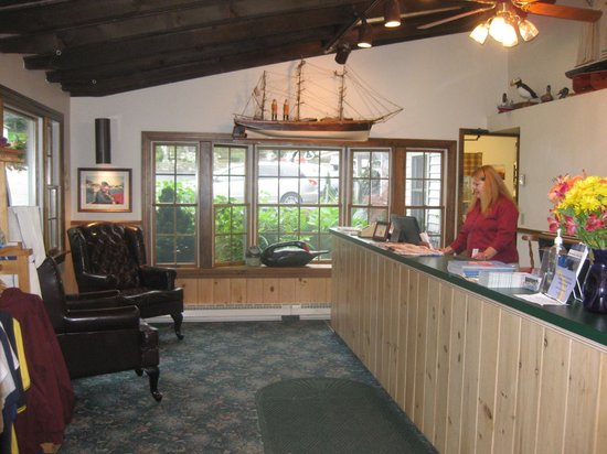 Reception, Brown's Wharf Inn, Boothbay Harbor, ME