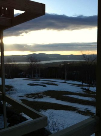 Sanbornton, NH: View waking up in our room