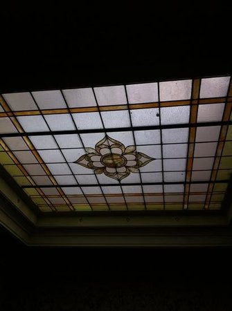 Steinhart: stained glass ceiling