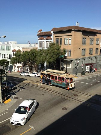 Suites at Fisherman's Wharf: View from our room - 201