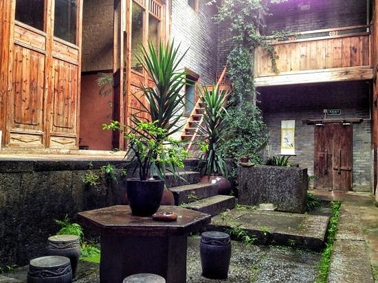 Courtyard for Secret boutique hotels