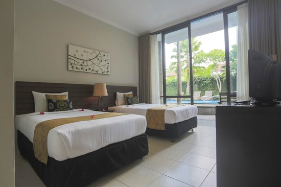 The Sunti Ubud Resort: Deluxe Twin Bed