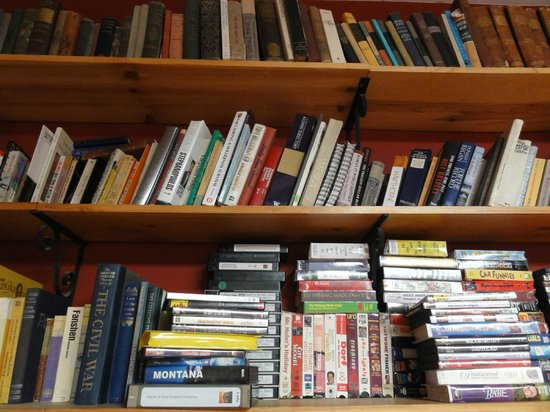 The Broadway Hotel: Just a tiny selection of the many books available to browse through