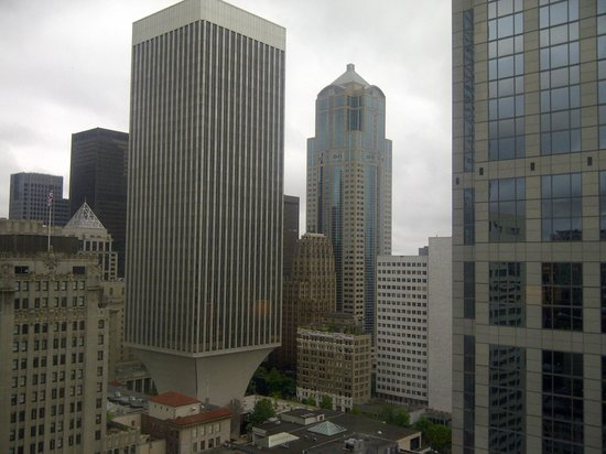 Sheraton Seattle Hotel: View from the room