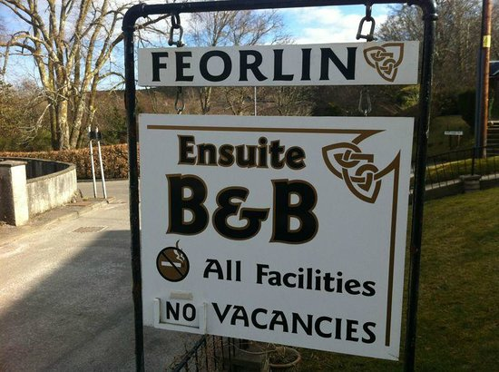 Feorlin B&B: Outside