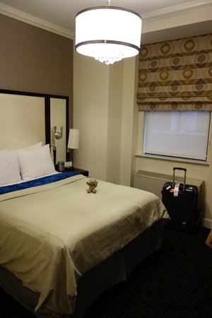 Park South Hotel: Inside of the room