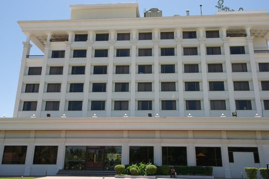 Sun-n-Sand Hotel, Shirdi: Rear view of the hotel