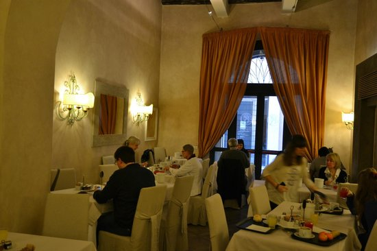 Hotel Adriano : Morgenmadsrestaurant 