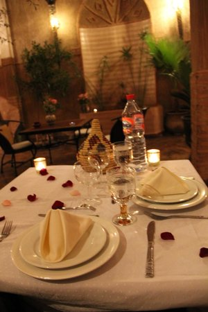 Riad Carina: Evening meal