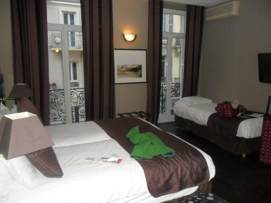 BEST WESTERN Hotel de Madrid : The triple room