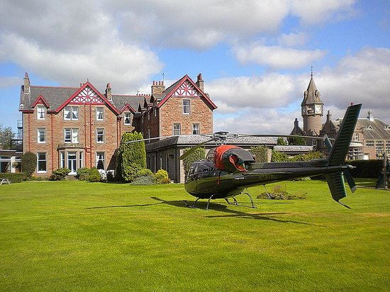 Edzell, UK: Helicopter
