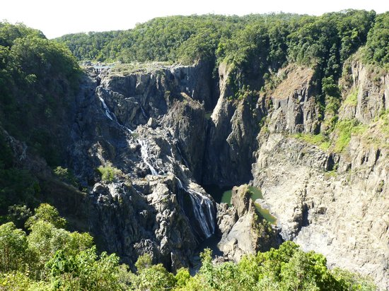 Cairns Region, : Barron Falls Lookout