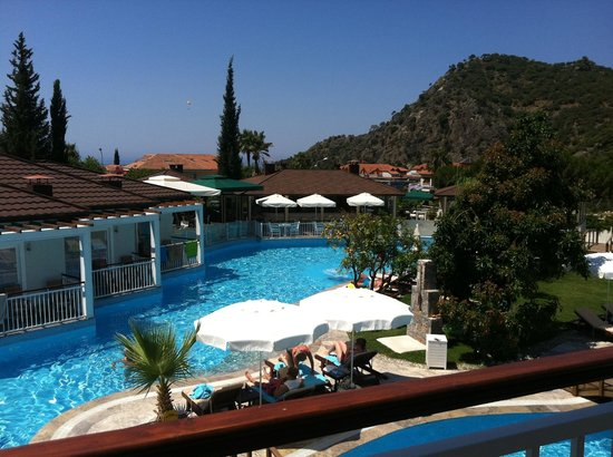 Mozaik Boutique Hotel Rooms & Apartments: View from our balcony !!