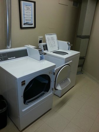 Delta Sun Peaks Resort: handy to do your own washing rather than paying expensive hotel services