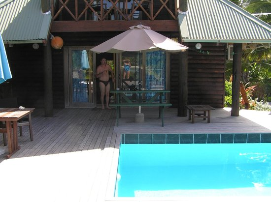 Sokala Villas: Lagoon Room with Pool