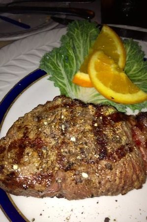Tuckerton, NJ: filet mignon