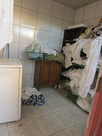 Villa Pacande Bed & Breakfast: washing room