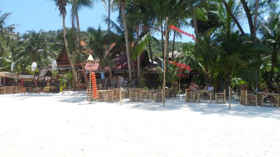 Koh Phangan Dreamland Resort: Ein lecker Restaurant direkt am Strand