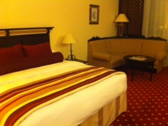 Millennium Airport Hotel Dubai: Extremely spacious room.