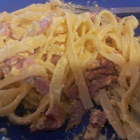 Hotel Novotel Bogor Golf Resort and Convention Center: Lumpy and very bad Pasta carbonara