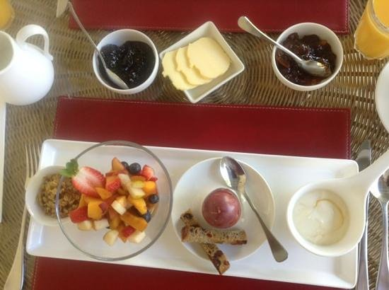 Llewellin's Guest House: Breakfast...First Course