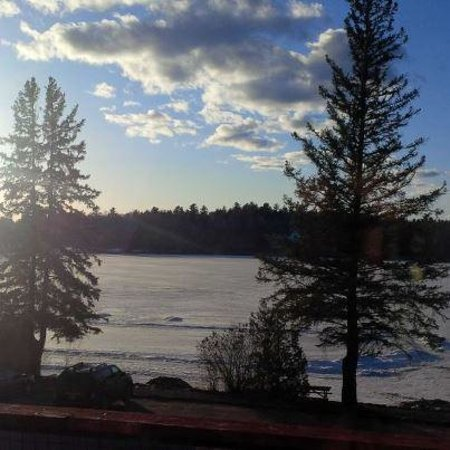 Calabogie, Kanada: View from the room