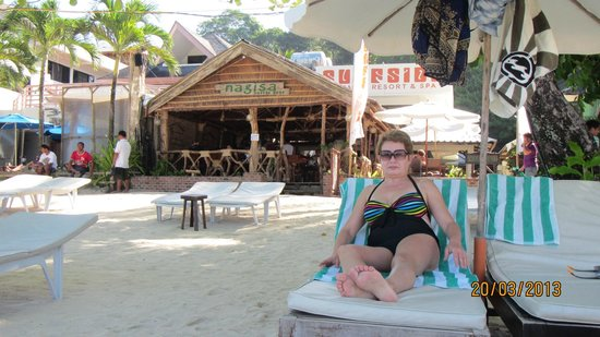 Surfside Boracay Resort & Spa: пляж