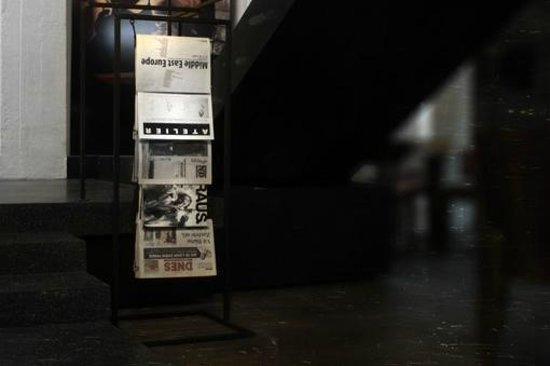 Zlin, Repubblica Ceca: Newspapers in Loft