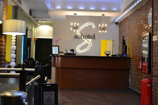Sohotel: Reception Desk