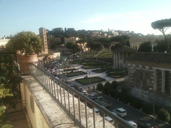 Fortyseven Hotel Rome: View from room balcony