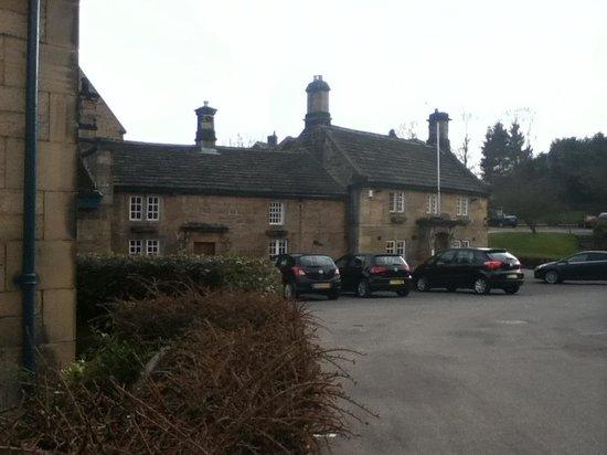 The Devonshire Arms at Beeley: Taken from just outside our cottage gate.